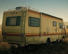 Bar Breaking-Bad dans un camping-car