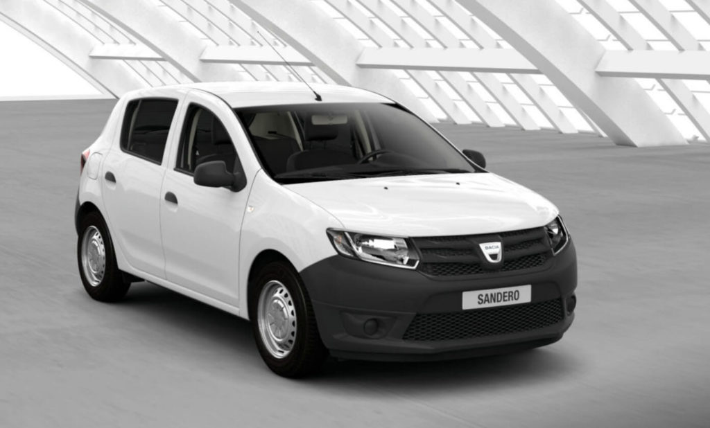la dacia sandero en t te des ventes auto en avril. Black Bedroom Furniture Sets. Home Design Ideas