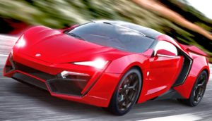 La Lykan Hypersport by W Motors